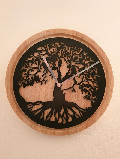 Wall Clocks - Tree of Life - Dawn Caley - Westfield Metalcrafts