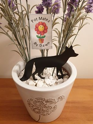 Pot Mates - Fox - Dawn Caley - Westfield Metalcrafts