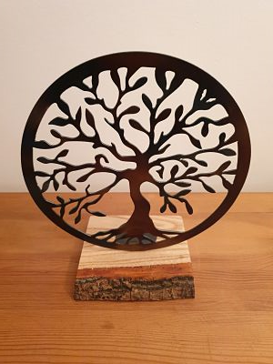 Tea-Light Holders - Classic Tree of Life - Dawn Caley - Westfield Metalcrafts