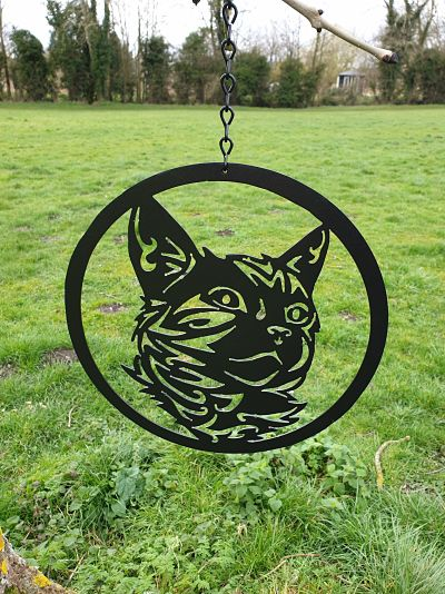 Wall Art - Tabby Cat - Dawn Caley - Westfield Metalcrafts