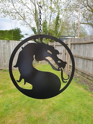Wall Art - Dragon Head - Dawn Caley - Westfield Metalcrafts
