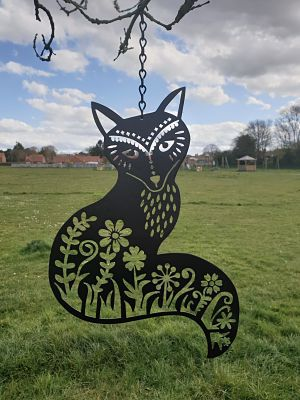 Wall Art - Fox - Dawn Caley - Westfield Metalcrafts