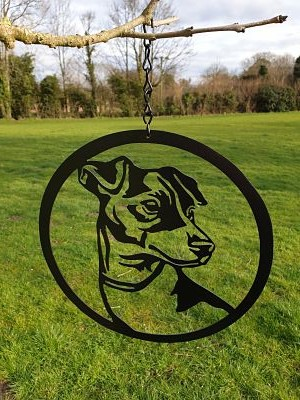 Wall Art - Jack Russell - Dawn Caley - Westfield Metalcrafts