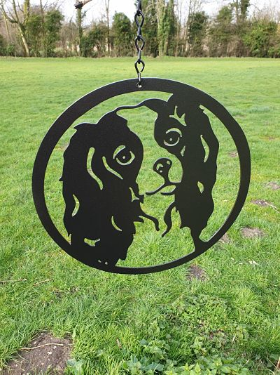 Wall Art - King Charles Spaniel - Dawn Caley - Westfield Metalcrafts