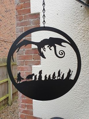 Wall Art - LOTR Inspired - Dawn Caley - Westfield Metalcrafts