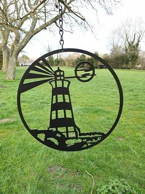 Wall Art - Lighthouse - Dawn Caley - Westfield Metalcrafts