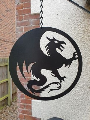 Wall Art - New Dragon - Dawn Caley - Westfield Metalcrafts