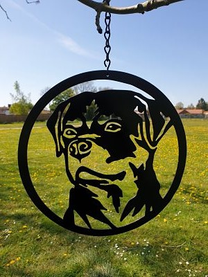 Wall Art - Rottweiler - Dawn Caley - Westfield Metalcrafts