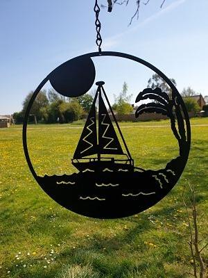 Wall Art - Sailing Boat - Dawn Caley - Westfield Metalcrafts