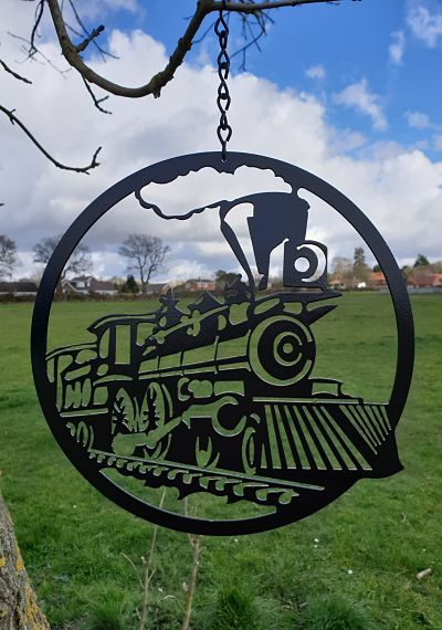 Wall Art - Steam Train - Dawn Caley - Westfield Metalcrafts