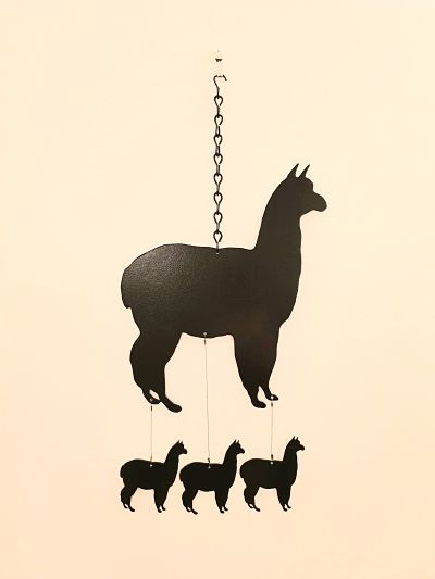 Wind Chimes - Alpaca - Dawn Caley - Westfield Metalcrafts
