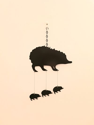 Wind Chimes - Classic Hedgehog - Dawn Caley - Westfield Metalcrafts