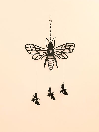 Wind Chimes - Fine Bee - Dawn Caley - Westfield Metalcrafts
