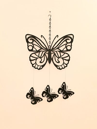 Wind Chimes - Fine Butterfly - Dawn Caley - Westfield Metalcrafts