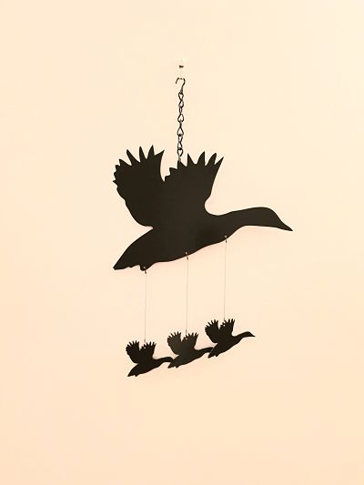 Wind Chimes - Flying Duck - Dawn Caley - Westfield Metalcrafts